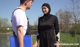 Hot Outdoor Muslim Fuck